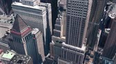 independence : aerial view of New york building,spectacular city landscape.