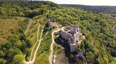 normandiya : Chateau Gaillard castle, Les Andelys, Normandy, France