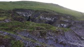 İrlanda : Old Slate Quarry and Grotto with statue of the Virgin Mary, Valentia Island, Ireland