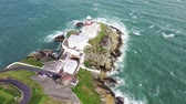 irlandês : Aerial view of Baily Lighthouse, Howth North Dublin