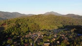 provincie : Aerial view of countryside in the mountain Thailand