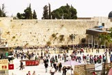 judaísmo : Jerusalem , Israel - November 02 . 2014 : Beautiful taimelapse at the Wailing Wall in the Old City of Jerusalem. Israel.