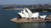 Aerial Closeup of Sydney Opera House