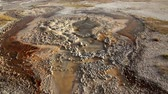 garnek : Bacteria Pools in Yellowstone Wideo