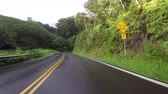 Мауи : POV car driving in Maui Hawaii