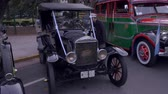 invent : First cab model bus of the late and early 1930s 1920s. The Ford Model T was the first introduction of the Argentinian invention: The Bus Full shot of the vehicle being displayed at the 200 Argentinian independence day celebrations, July, 2016.