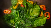 stirfry : Stir fried vegetable Thai style