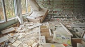 škola : Abandoned Classroom in School number 5 of Pripyat, Chernobyl Exclusion Zone 2019 photo