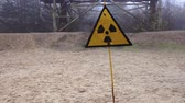 awaria : Beware of radiation sign on the outskirts of Pripyat Wideo