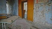 радиоактивный : Abandoned Classroom in School number 5 of Pripyat, Chernobyl Exclusion Zone 2019