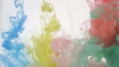 holi : Colorful background of abstract colors.