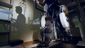 rehabilitate : Cyborg outfit helps to train unhelthy muscles.