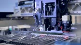 очень : Manufacturing of electronic chips. High-tech production concept.