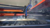 borough : Laser cutting machine in ation. 4K.