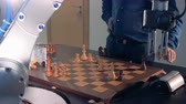 emulator : Innovative robotic chess artificial intelligence play chess with a human.