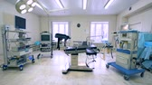 movable : Gynecological medical room with professional tools and equipment
