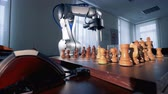 checkmate : Chess game between a human and a artificial intelligence.