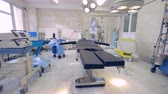 doctors surgery : Equipment and medical devices in operating room.