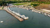 regata : Top view of docks containing a lot of yachts and boats