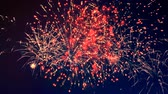 подсветкой : Colourful fireworks explosions in the darkness
