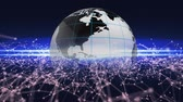 New technology on Earth innovations. Technical progress background.