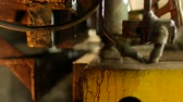 operador : the worker is engaged in cutting of metal on the production automatic machine tool, metal cutting,manufacture