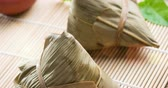 recheado : Asian glutinous dumplings, 4k footage video. Stock Footage