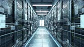 IT engineering, rack servers in the modern data center.
