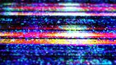 vcr : Damage to the video signal noise, glitch.