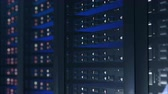 zálohování : Servers close up. Modern data center.