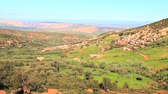 kasbah : View at the viewpoint of atlas mountain in morocco