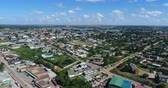 A view of some nice living compounds in Kitwe, Zambia