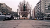 i city : Statue in Ankara. The Statue Stands Near The Road, turkey capital city view and icons.