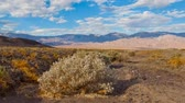 eastern sierra : Mountain View, California Stock Footage