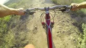 denge : POV Extreme Mountain Biking  Stok Video
