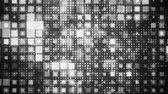 Geometric Flash Looping black and white Squares Animated Background