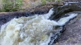 karelia : Waterfall at high water time in Karelia, Russia