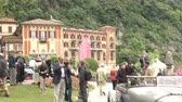 chassis : People attending the famous Concorso dEleganza at Villa dEste, Cernobbio, Italy Stock Footage