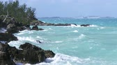 bermudas : Choppy sea in Bermuda, During storm