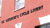 maritime territory : St. George cycle livery building in the small town of St. George, Bermuda