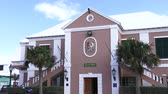 maritime territory : Town hall of the small town of St. George, Bermuda
