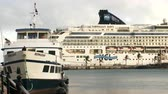 maritime territory : Cruise ship docked in the Royal Naval Dockyard in the British Overseas Territory of Bermuda