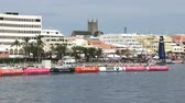 maritime territory : Hamilton was seen from the sea during the Americas Cup World Sailing Series