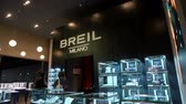 zegarek : Breil booth at Baselworld watches and jewelry show in Basel, Switzerland.