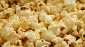 somebody : Golden Popcorn Moving Shot Stock Footage