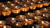 assombrada : Lots Of Candles Blown Out Stock Footage