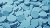 medicamentos : Passing Pile Of Medical Tablets