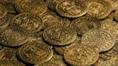 pirát : Gold Pirate Coins Rotating