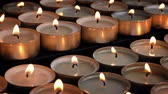 relaks : Little Candles In Rows