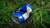 vandal : Can Thrown in Grass - Litter Concept